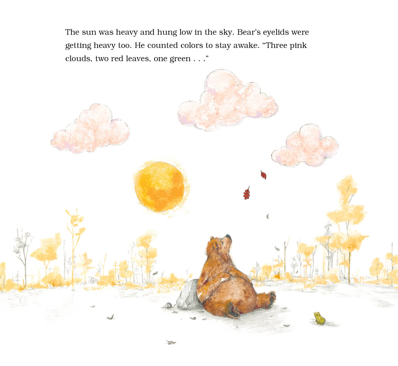 Tell Story With Pictures Bear Has a Story to Tell