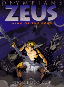 zeus king of the gods book one of the olympians turtleandrobot com