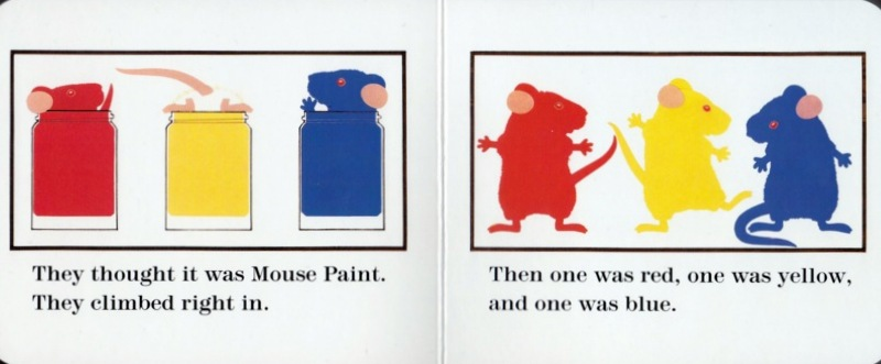 mouse paint int 1 001 - Primary Colors Book